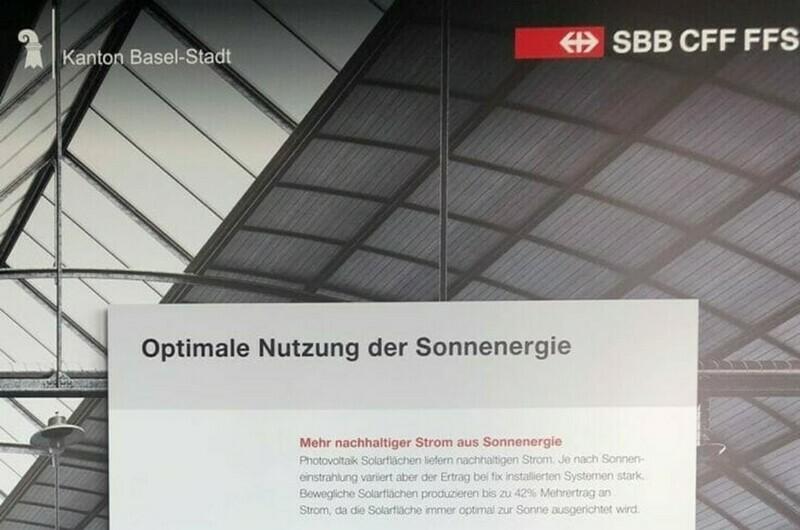 Kaufen Sie Energeek® Solarpanel und vermieten diese dem Smart City Lab Basel der SBB für CHF 2'498 mit CHF 97 Mieteinnahmen pro Jahr in einer 1. Phase - während über 30 Jahren an anderen Standorten