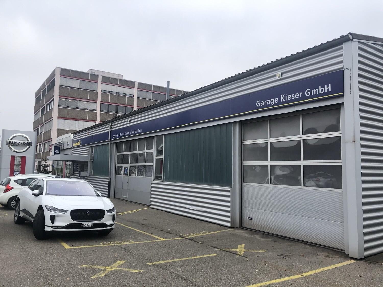 Energeek® Solar Panel für die E-Fahrzeug Nissan Garage Kieser in Neuenhof Kanton Aargau mit 103 CHF Mietertrag pro Jahr