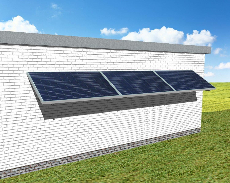 """myCleantech-Solar.org™ - Komplett Solaranlage Fassade 810 - 6'168 WattP """"Einfache Selbstmontage - do it yourself"""" oder Aufbau durch unsere Fachleute ab..."""
