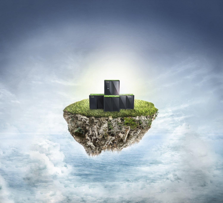 """myCleantechStorageBatterie™ - SALZWASSER Strom Speicher Batterie """"greenrock"""" ab 5 kWh mit 10 Jahren Garantie inklusive Cleantech Smart-Grid & -Home System ab..."""