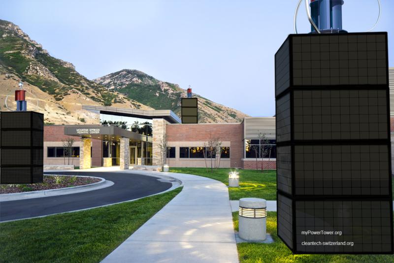 myPowerTower.org™ - swiss made cleantech natural energy komplett power plant tower solution ab...