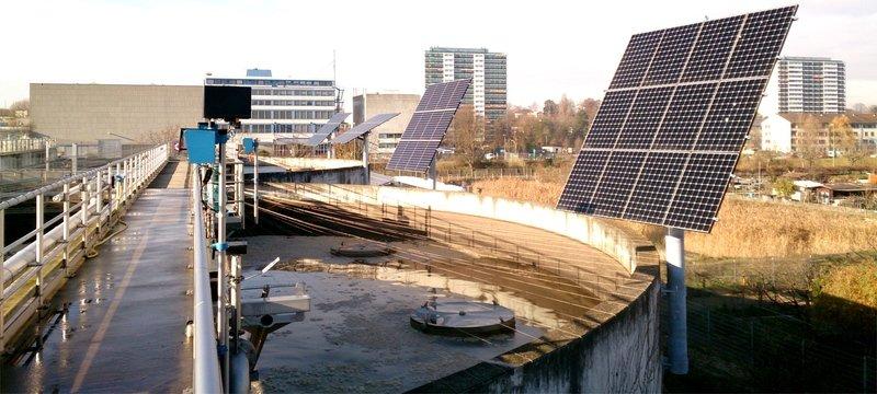 www.Cleantech-Energy-Systems.org - PV Photovoltaik Solar Tracker System mit bis zu + 63 % (garantiert + 42 %) Strom-Mehrertrag durch der Sonne nachgeführten Bi-Fazialen Panels - ab...