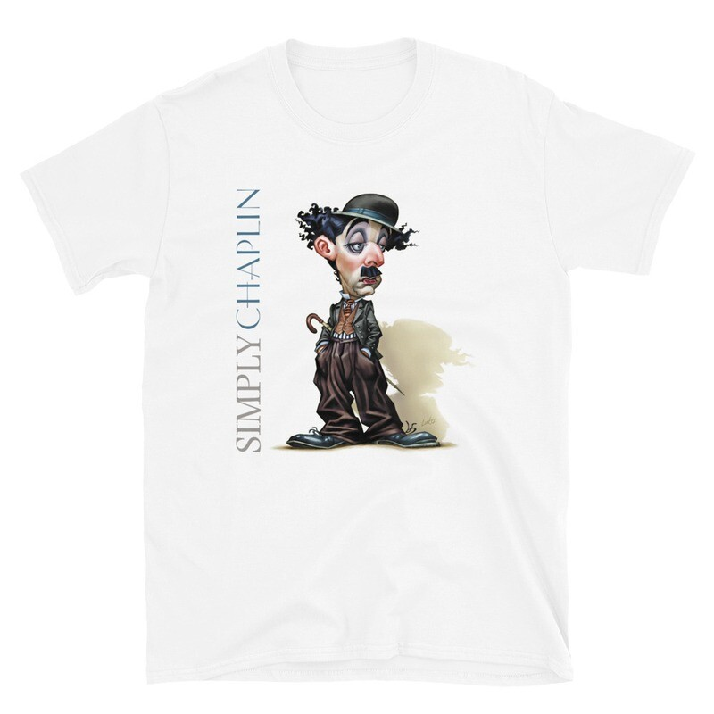 Simply Chaplin Short-Sleeve Unisex T-Shirt