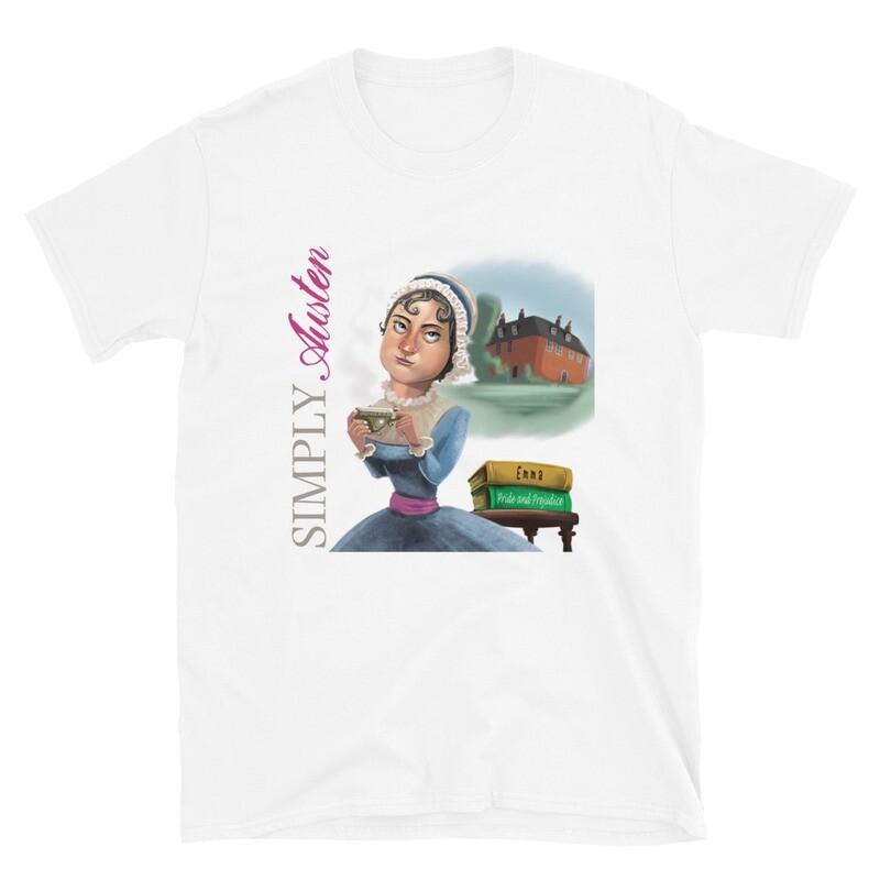 Simply Austen Short-Sleeve Unisex T-Shirt
