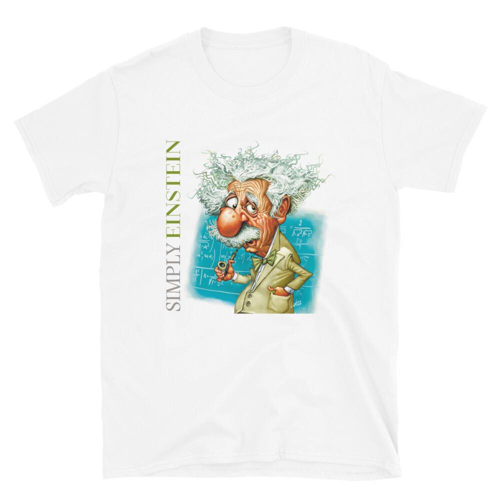 Simply Einstein Short-Sleeve Unisex T-Shirt