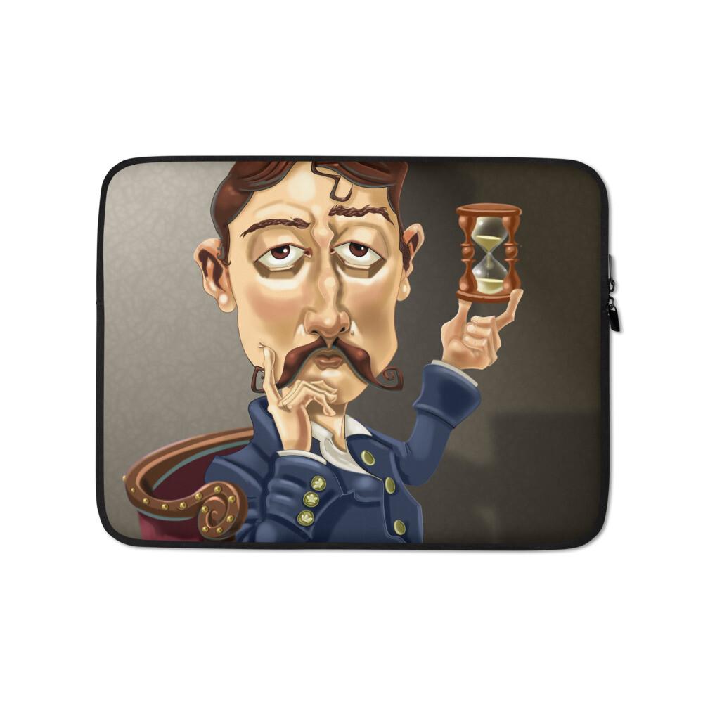 Marcel Proust Laptop Sleeve