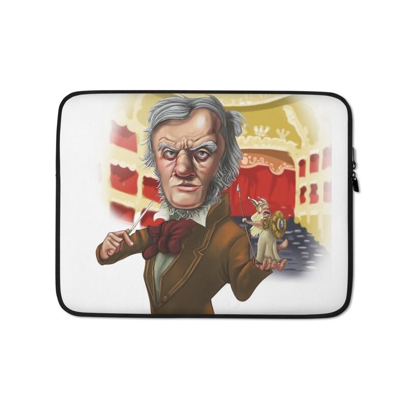 Richard Wagner Laptop Sleeve