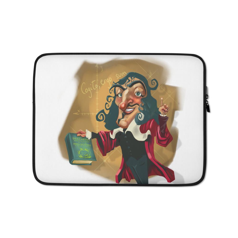 René Descartes Laptop Sleeve