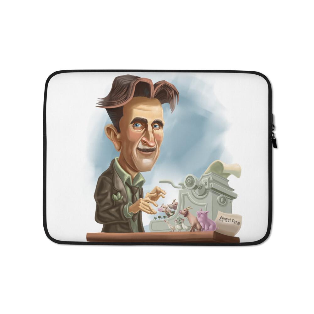 George Orwell Laptop Sleeve