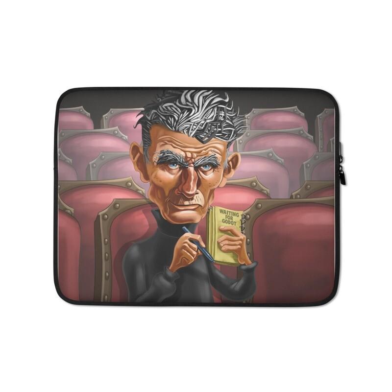 Samuel Beckett Laptop Sleeve