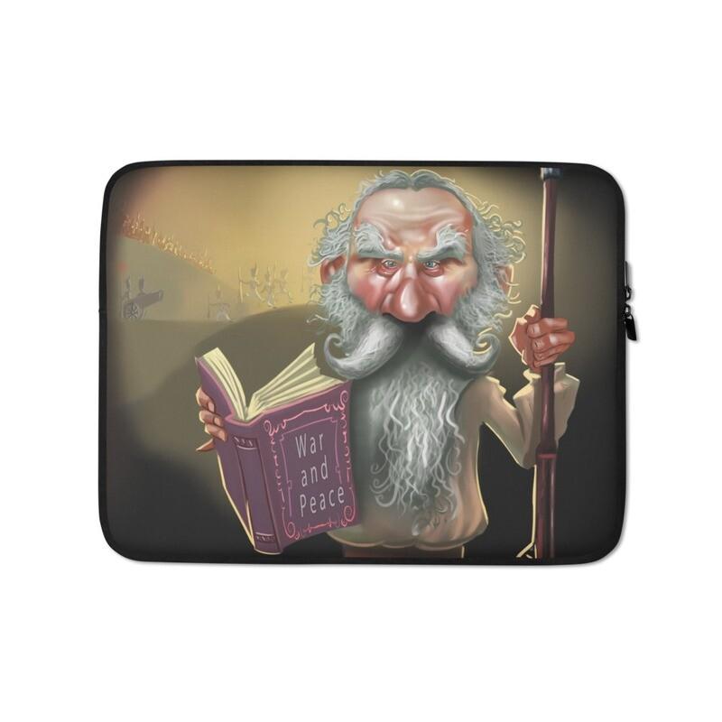 Leo Tolstoy Laptop Sleeve