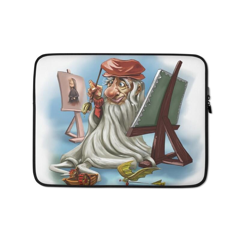 Leonardo da Vinci Laptop Sleeve