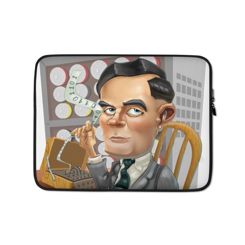 Alan Turing Laptop Sleeve