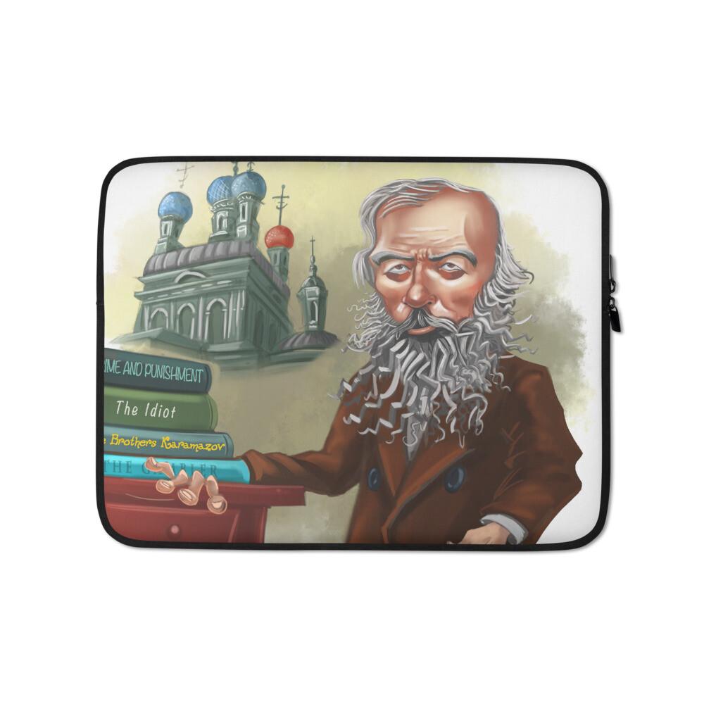 Fyodor Dostoevsky Laptop Sleeve