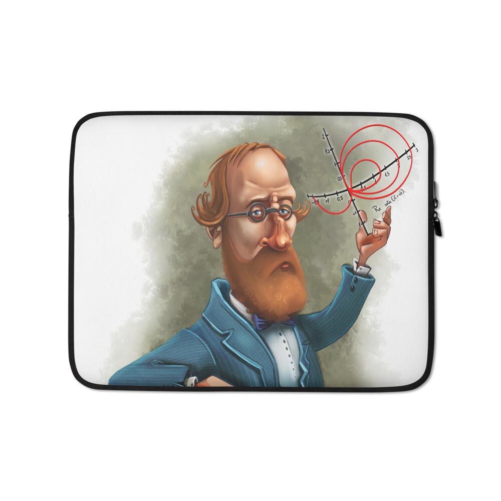 Bernhard Riemann Laptop Sleeve