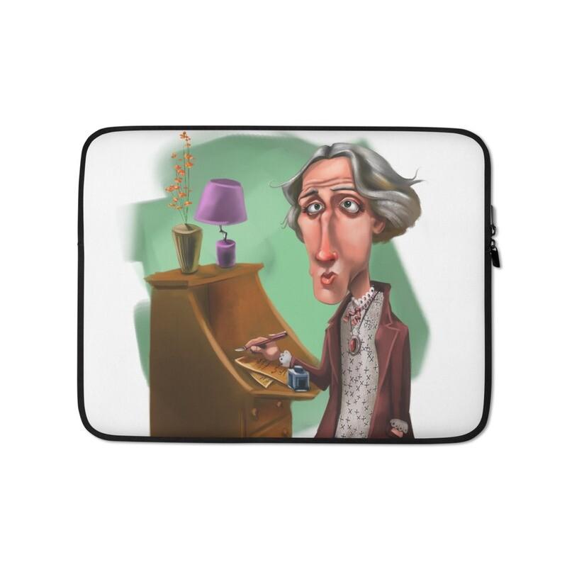 Virginia Woolf Laptop Sleeve