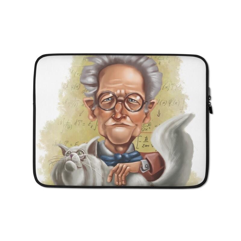 Erwin Schrödinger Laptop Sleeve