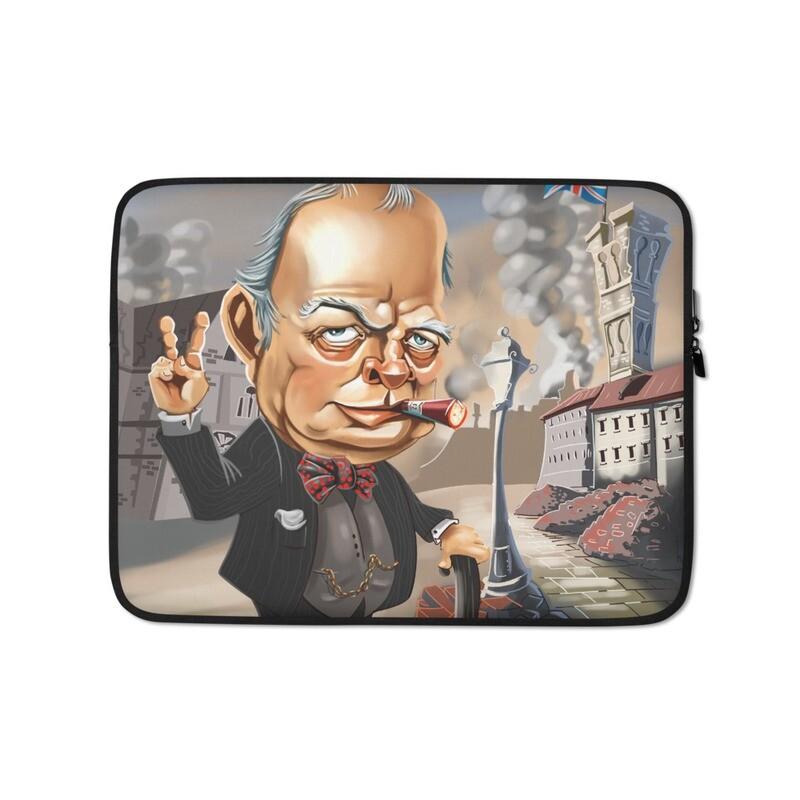 Winston Churchill Laptop Sleeve