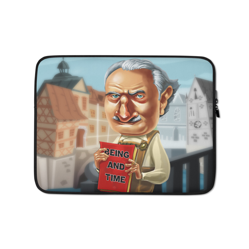 Martin Heidegger Laptop Sleeve