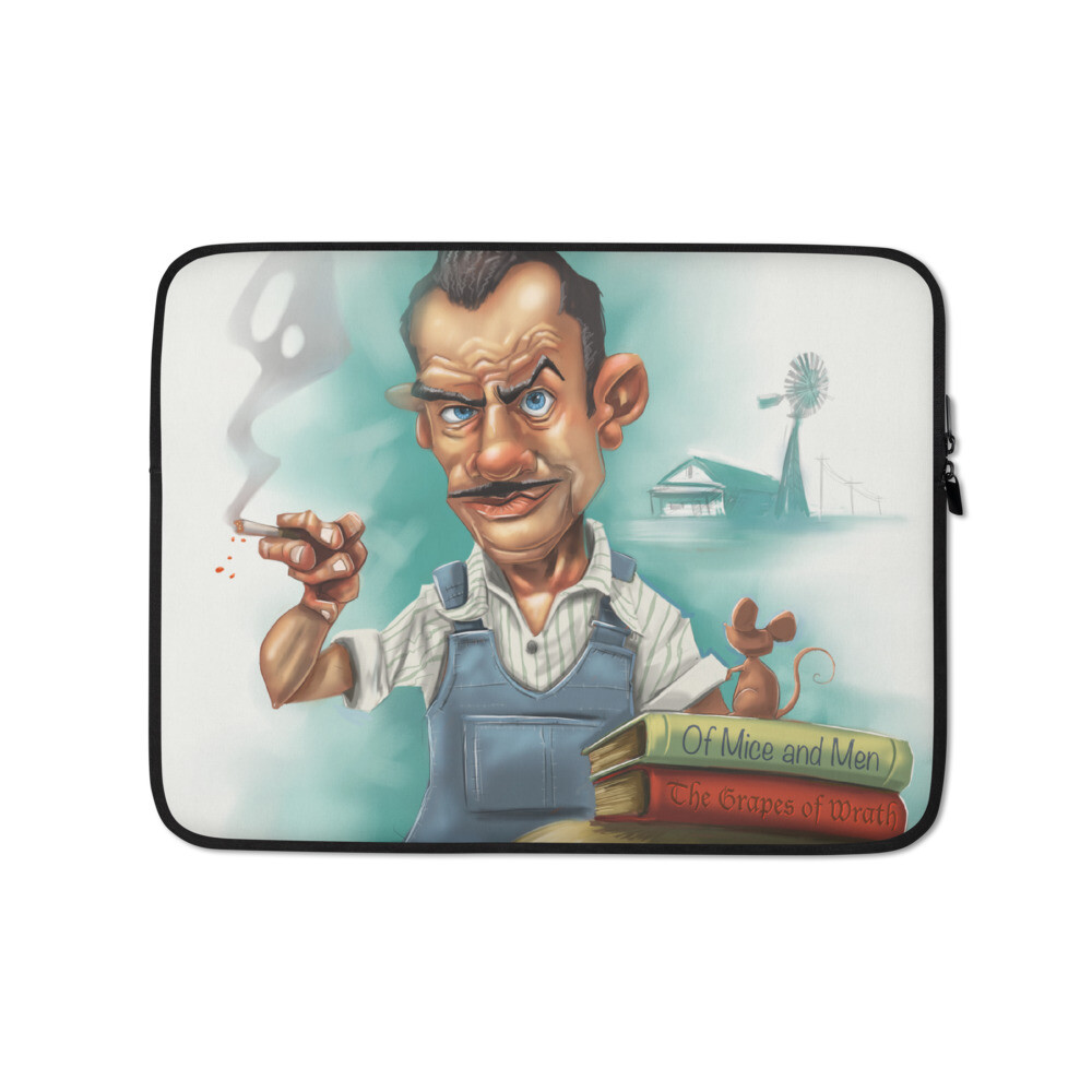 John Steinbeck Laptop Sleeve