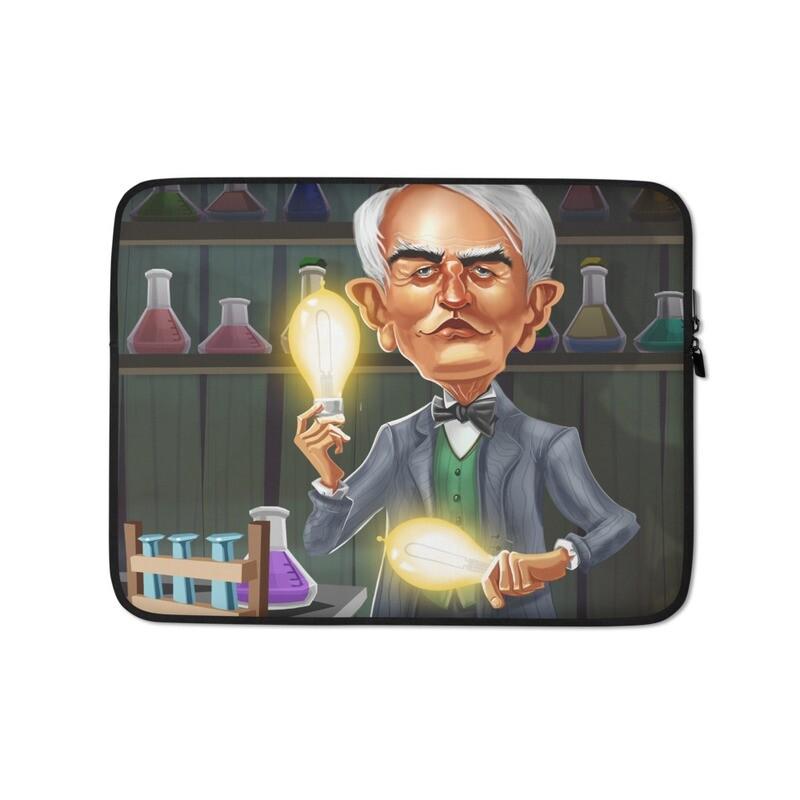 Thomas Edison Laptop Sleeve