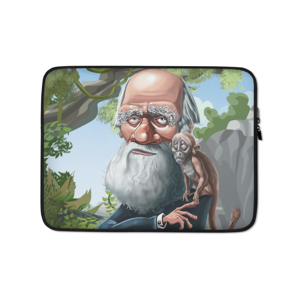 Charles Darwin Laptop Sleeve