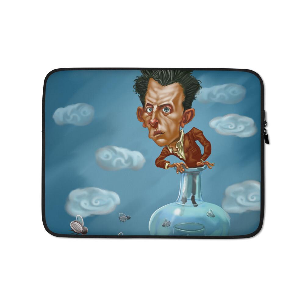 Ludwig Wittgenstein Laptop Sleeve