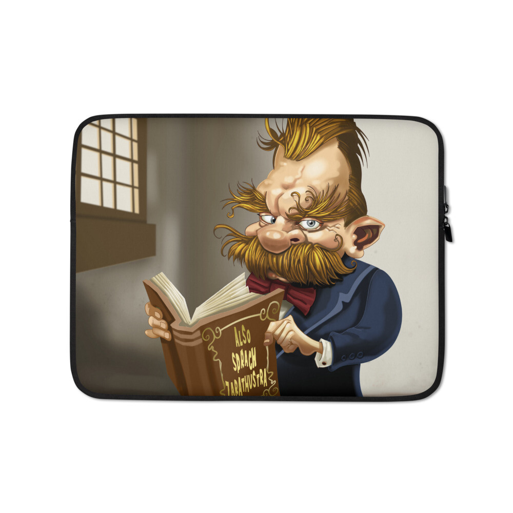 Friedrich Nietzsche Laptop Sleeve