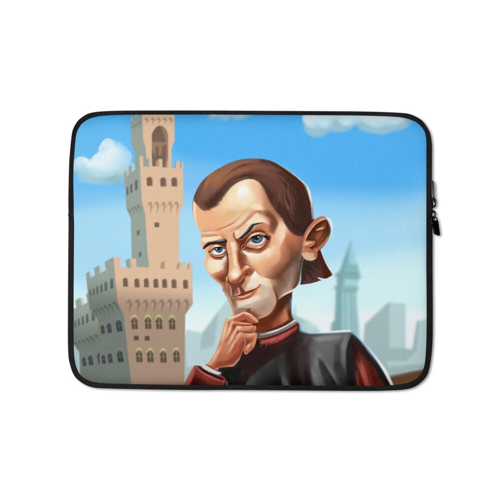 Niccolò Machiavelli Laptop Sleeve
