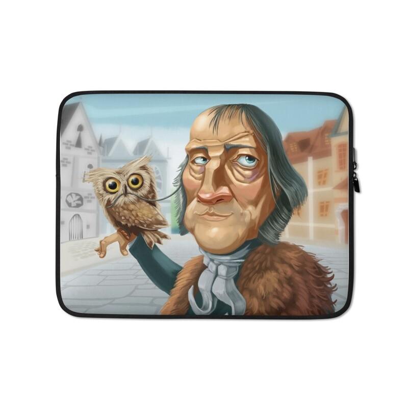 Georg Hegel Laptop Sleeve