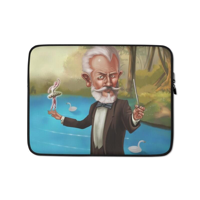 Pyotr Tchaikovsky Laptop Sleeve