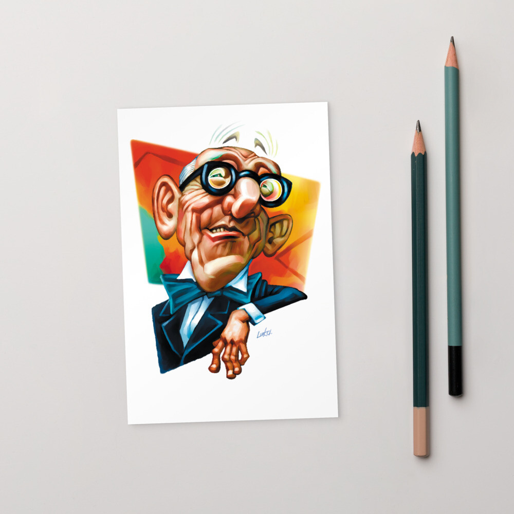 Le Corbusier Standard Postcard