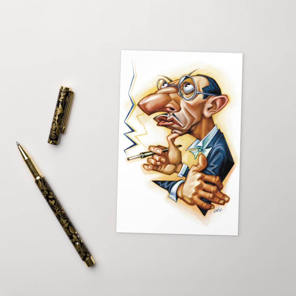 Igor Stravinsky Standard Postcard