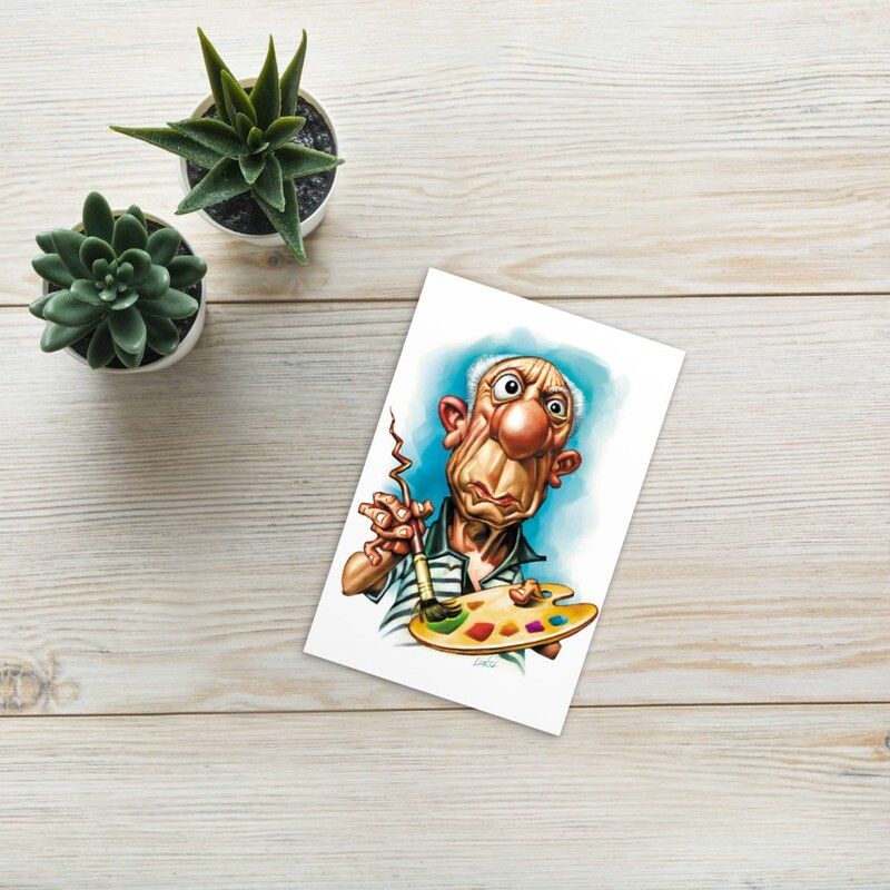 Pablo Picasso Standard Postcard