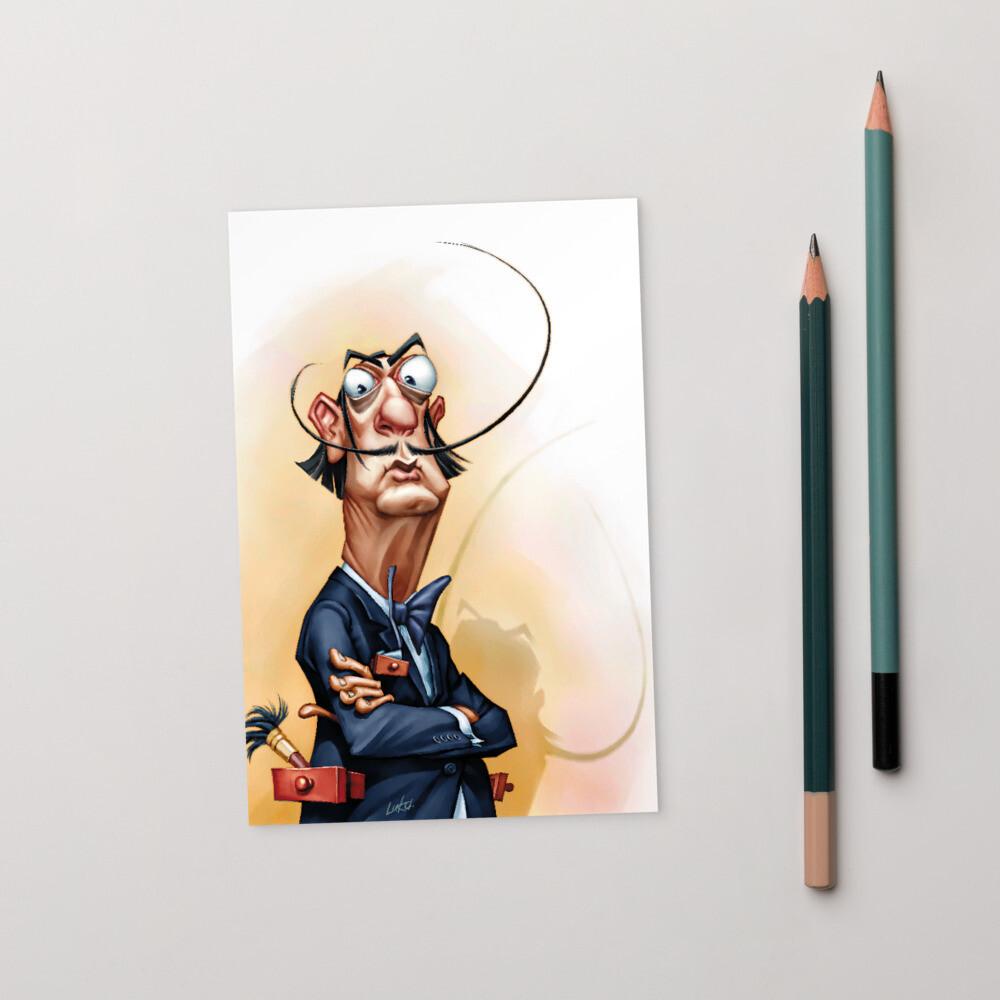 Salvador Dalí Standard Postcard