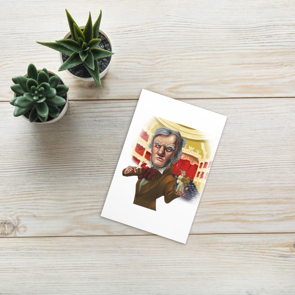 Richard Wagner Standard Postcard