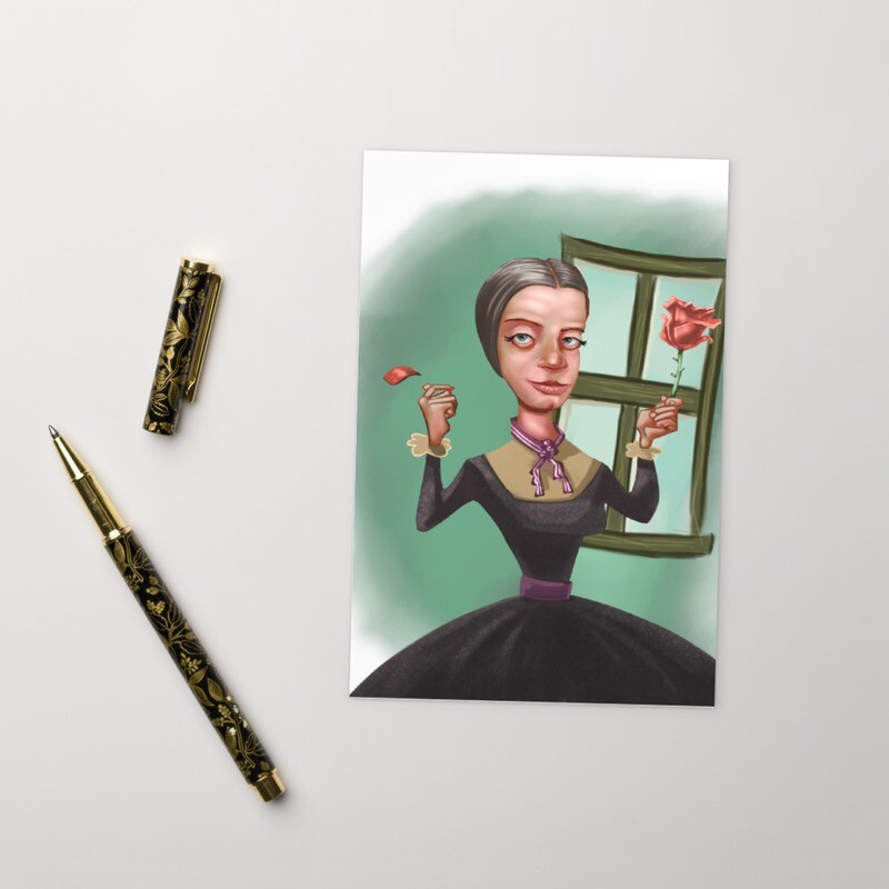 Emily Dickinson Standard Postcard