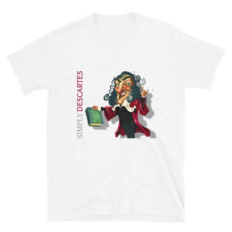 Simply Descartes Short-Sleeve Unisex T-Shirt