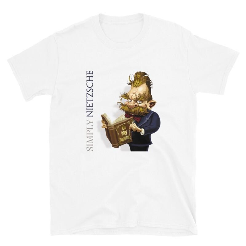 Simply Nietzsche Short-Sleeve Unisex T-Shirt