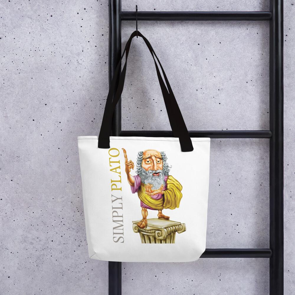 Simply Plato Tote bag