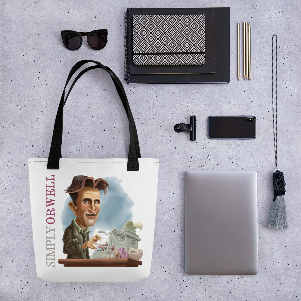 Simply Orwell Tote bag