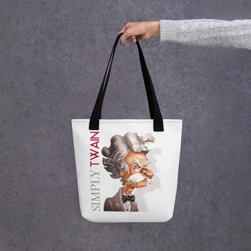 Simply Twain Tote bag