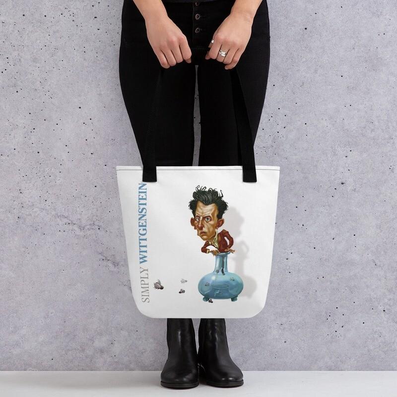 Simply Wittgenstein Tote bag