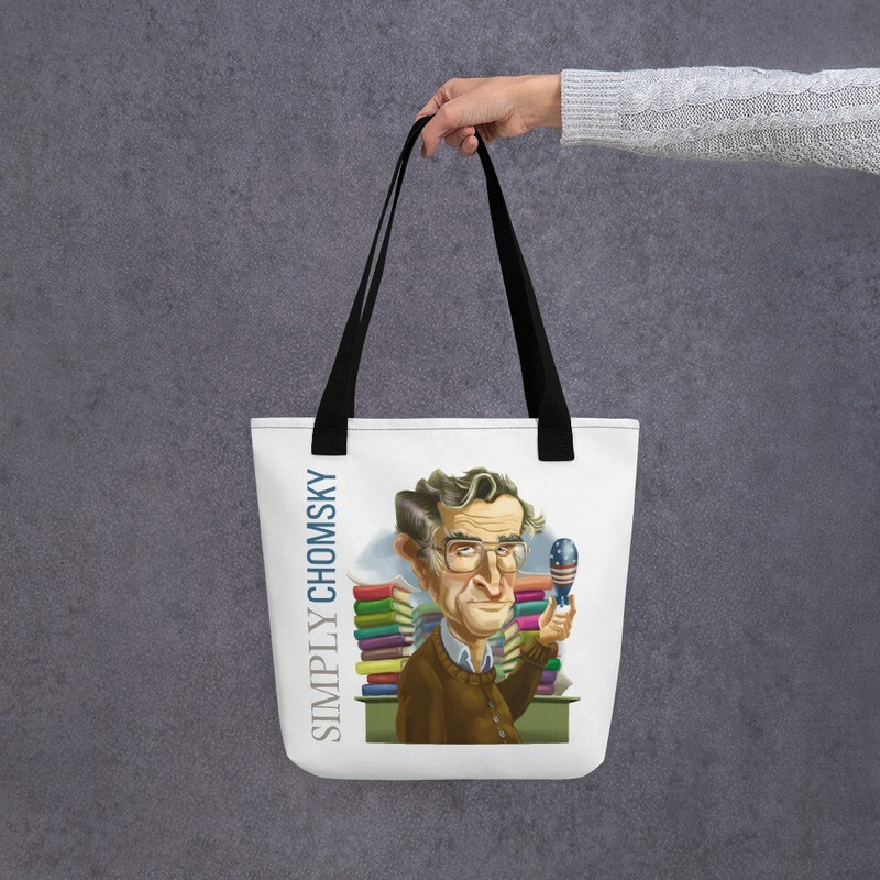 Simply Chomsky Tote bag