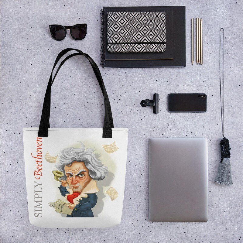 Simply Beethoven Tote bag