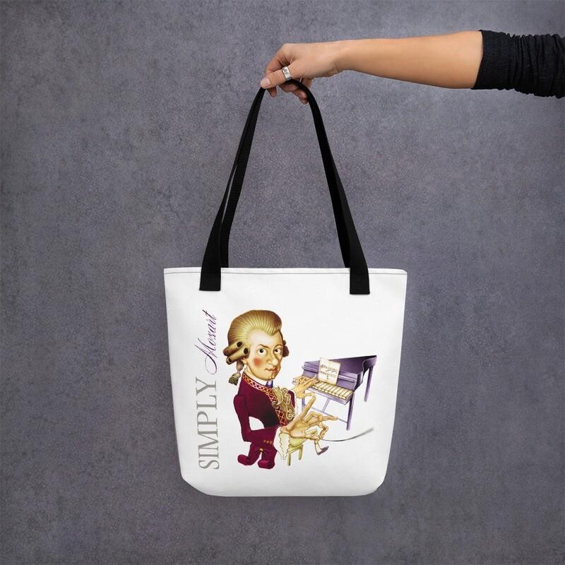 Simply Mozart Tote bag