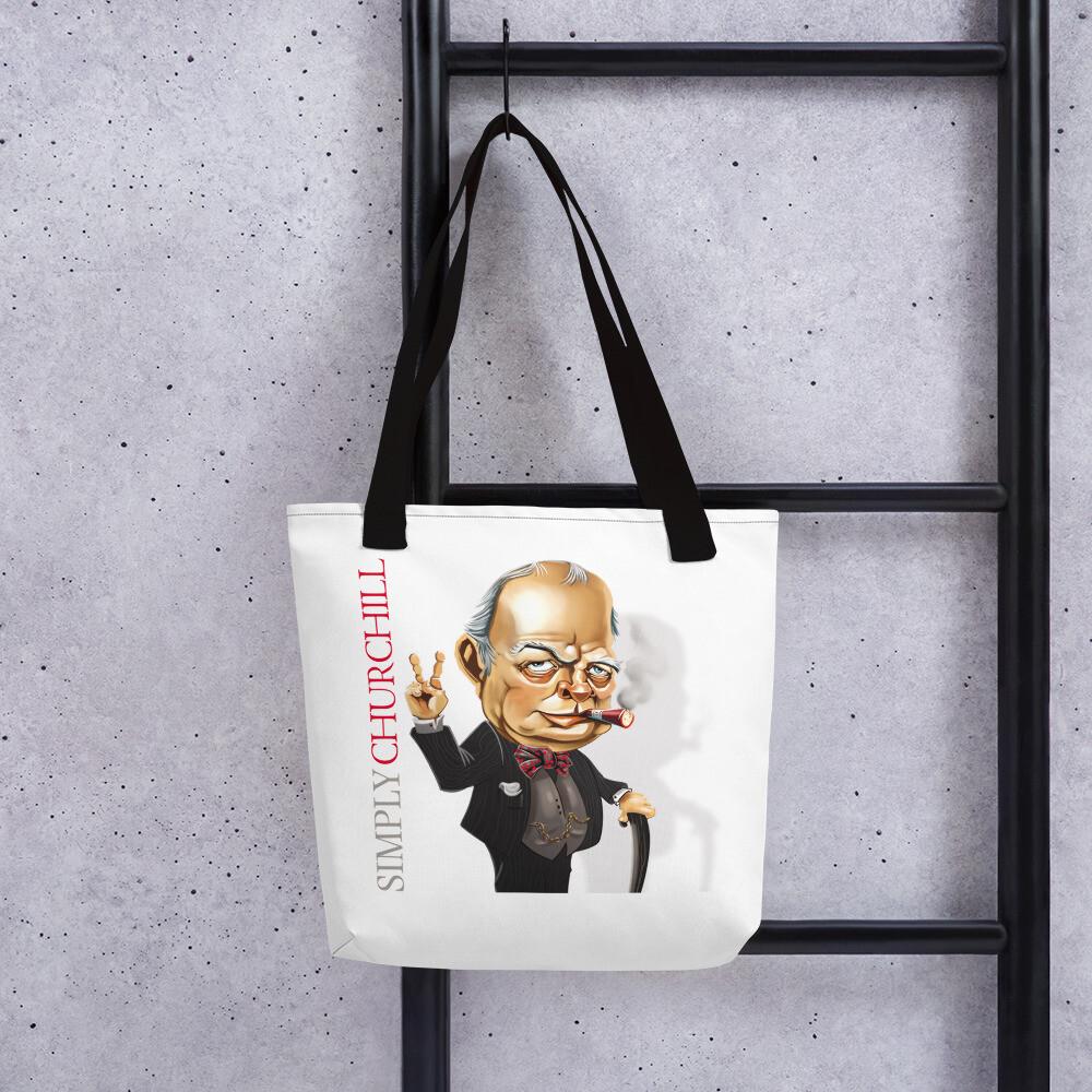 Simply Churchill Tote bag
