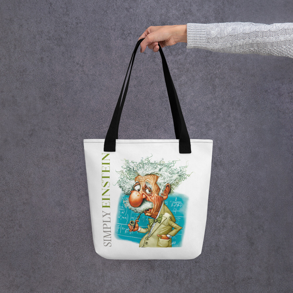 Simply Einstein Tote bag