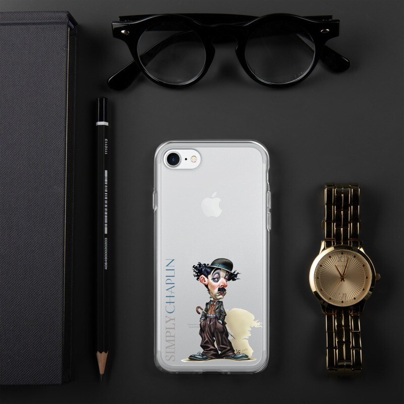 Simply Chaplin iPhone Case
