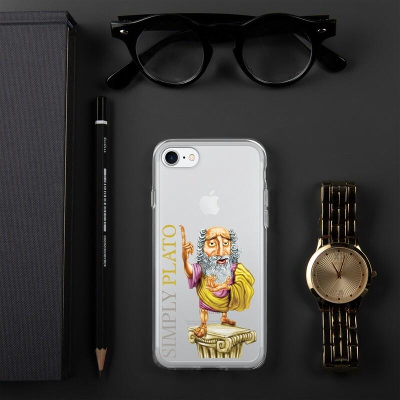 Simply Plato iPhone Case